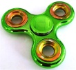 Shiny Metallic Paint Metal Spinner Green