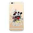 Disney Mickey & Minnie 001 Back Cover Transparent pro Huawei Y6 2018