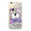 Disney Minnie 035 Glitter Back Cover Silver pro iPhone 6 / 6S