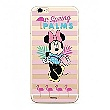 Disney Minnie 028 Back Cover Transparent pro iPhone XS