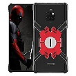 Luphie Heroes Rotation Aluminium Bumper pouzdro Black / Red pro Huawei Mate 20 Pro