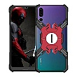 Luphie Heroes Rotation Aluminium Bumper pouzdro Black / Red pro Huawei P20 Pro