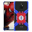 Luphie Heroes Rotation Aluminium Bumper pouzdro Blue / Red pro Huawei Mate 20 Pro