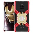 Luphie Heroes Rotation Aluminium Bumper pouzdro Red / GOLD zlatá barva pro Huawei Mate 20 Pro