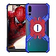 Luphie Heroes Rotation Aluminium Bumper pouzdro Blue / Red pro Huawei P20 Pro